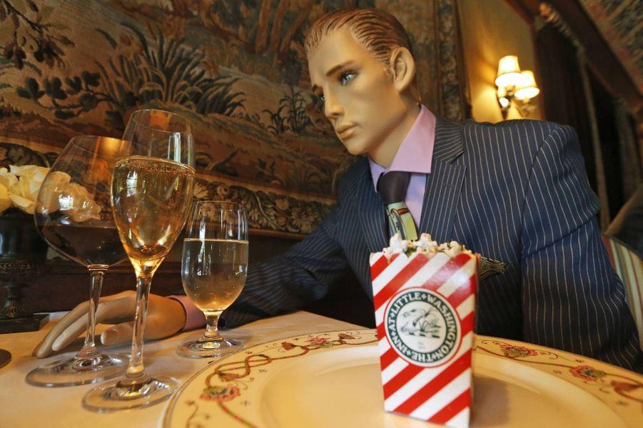 The Inn at Little Washington accueille, en attendant ses clients, des mannequins.