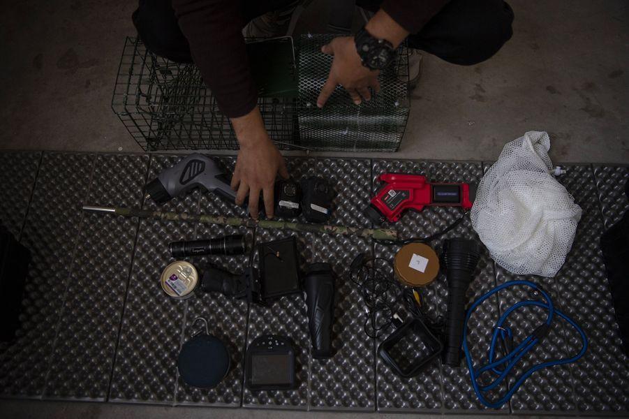 L'équipement deSun Jinrong.