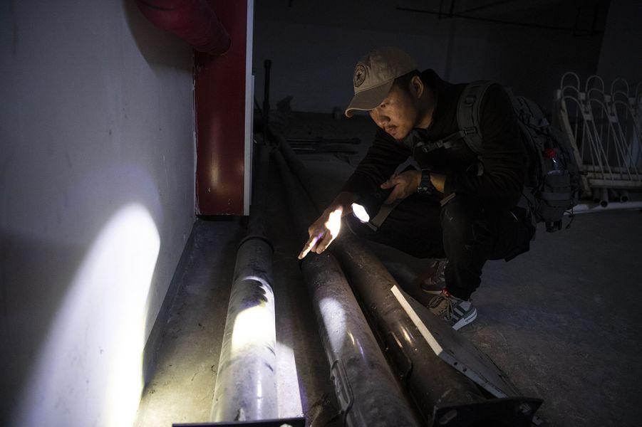 Sun Jinrong est considéré par les médias chinois comme le premier détective animalier de Chine.