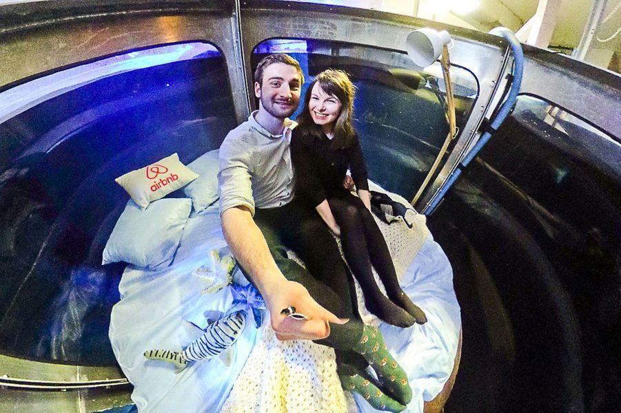 Alister Shipman et Hannah Simpson