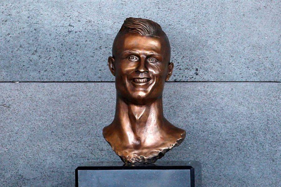 Un buste de Cristiano à Madère, au Portugal, en mars 2017.