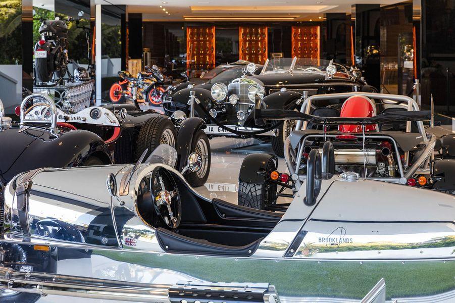 Le parc auto de luxe