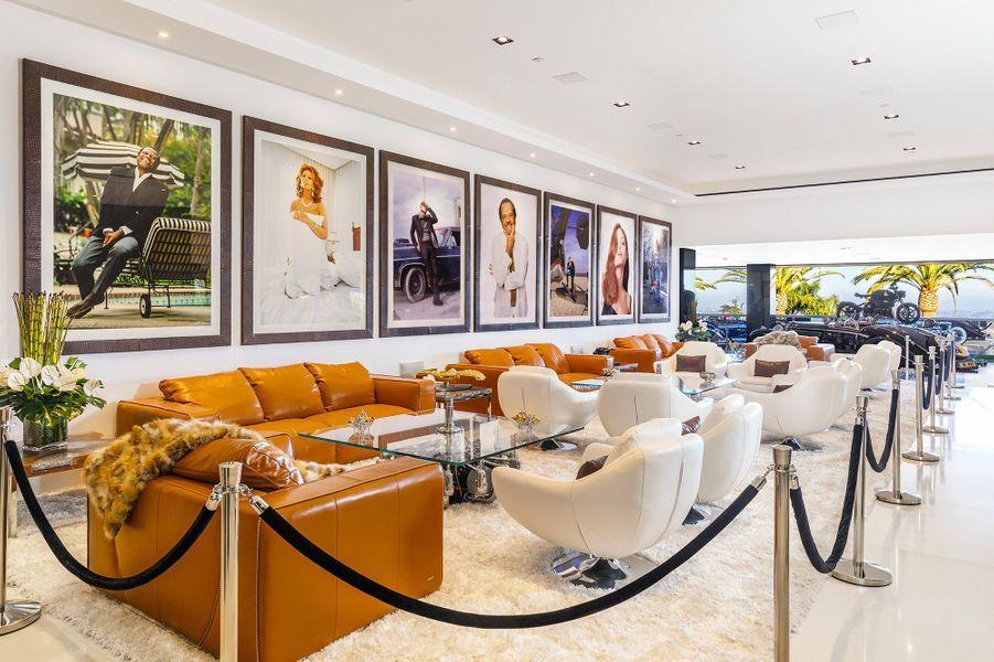 Vue du salon lounge