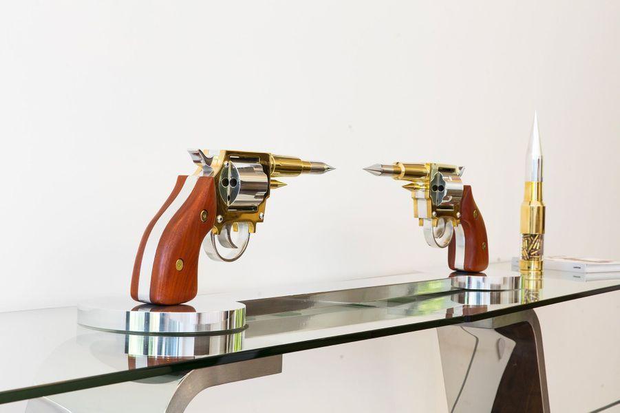 Les pistolets de Gale Hart