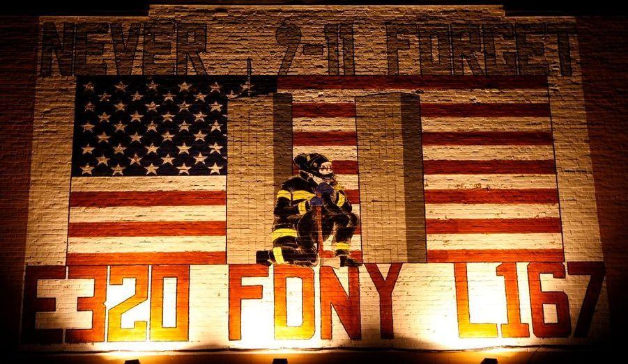 Les pompiers en héros (Queens)