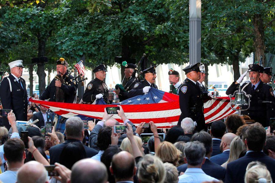 Commémorations du 18ème anniversaire des attentats du 11-Septembre, le 11 septembre 2019.
