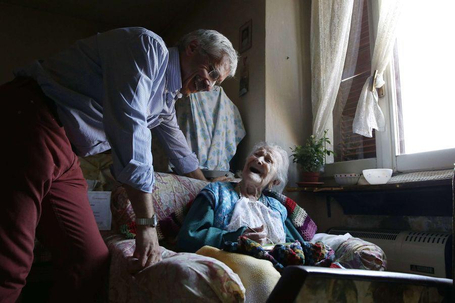 Emma Morano, 116 ans, est la doyenne du monde.