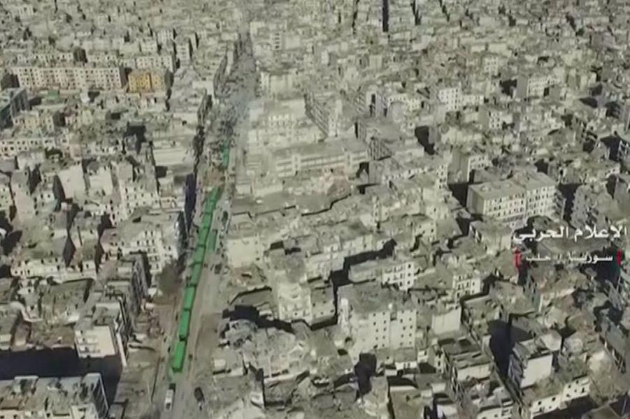 A Alep, le 15 décembre 2016.