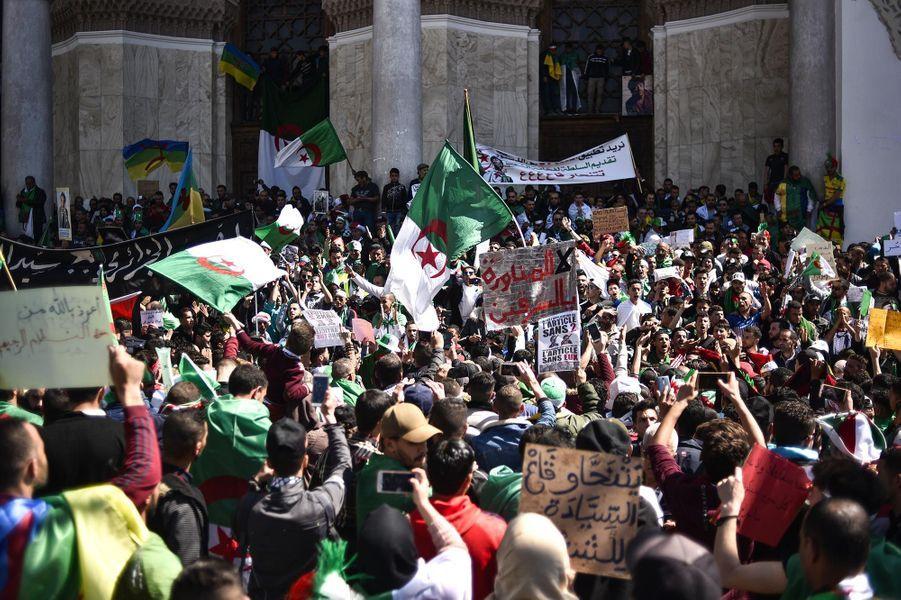 Manifestation à Alger, le 29 mars 2019.