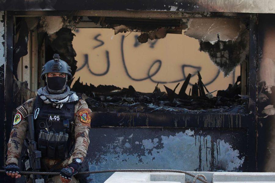 L'ambassade américaine à Bagdad a été attaquée.