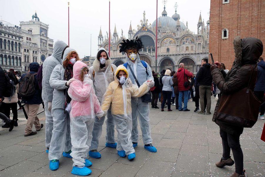 À Venise, le 23 février 2020.
