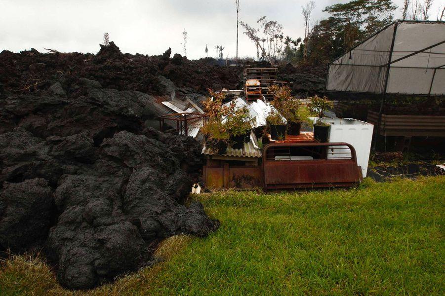 L'éruption du volcan Kilauea a détruit 35 bâtiments à Hawaï.