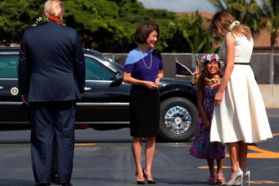 Les Trump à Hawaï.