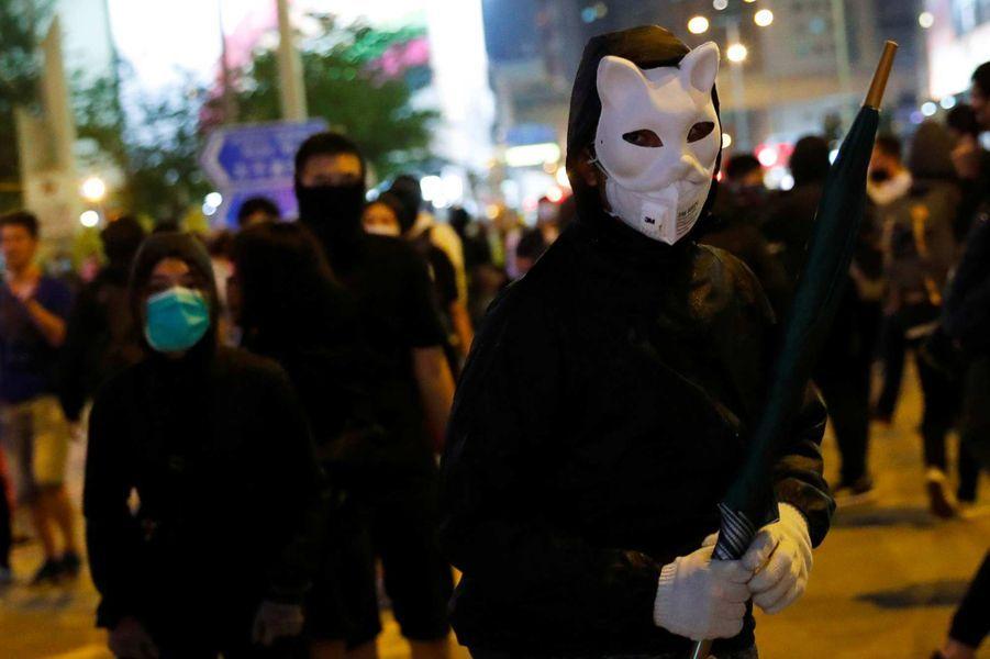 Manifestation à Hong Kong, le 31 octobre 2019.