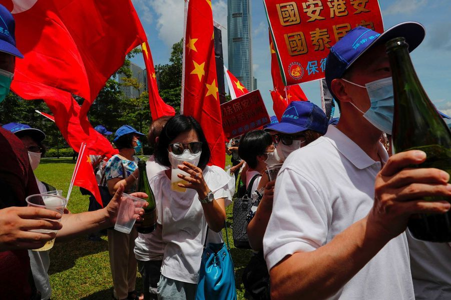 La justice chinoise est désormais applicable à Hong Kong.