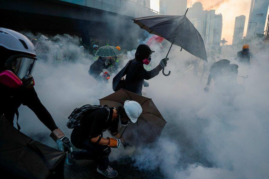 Manifestation à Hong Kong, le 15 septembre 2019.