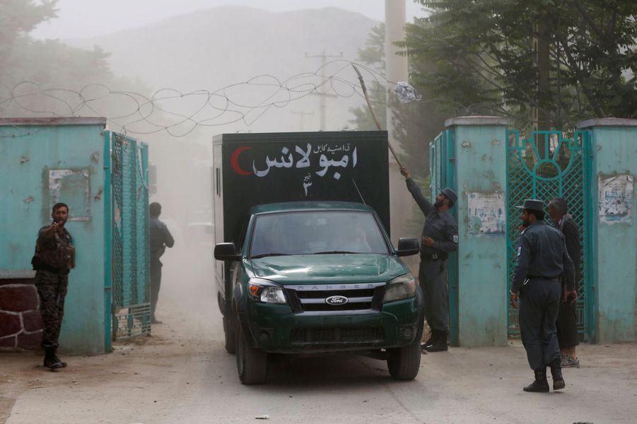 Sept personnes ont été tuées dans trois explosions survenues à Kaboul, le 3 juin 2017.