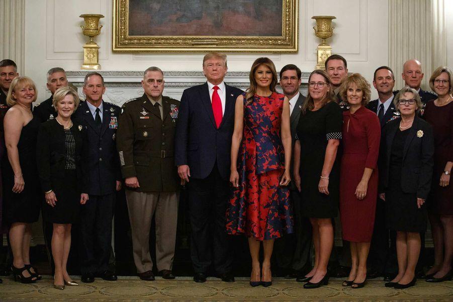 Donald et Melania Trump à la Maison-Blanche, le 7 octobre 2019.