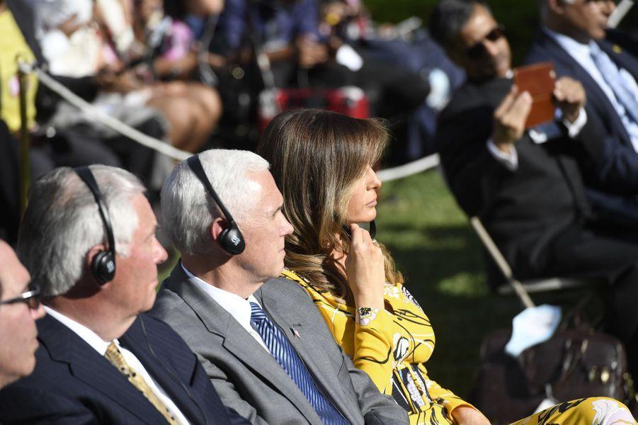 Melania Trump à la Maison Blanche, le 26 juin 2017.