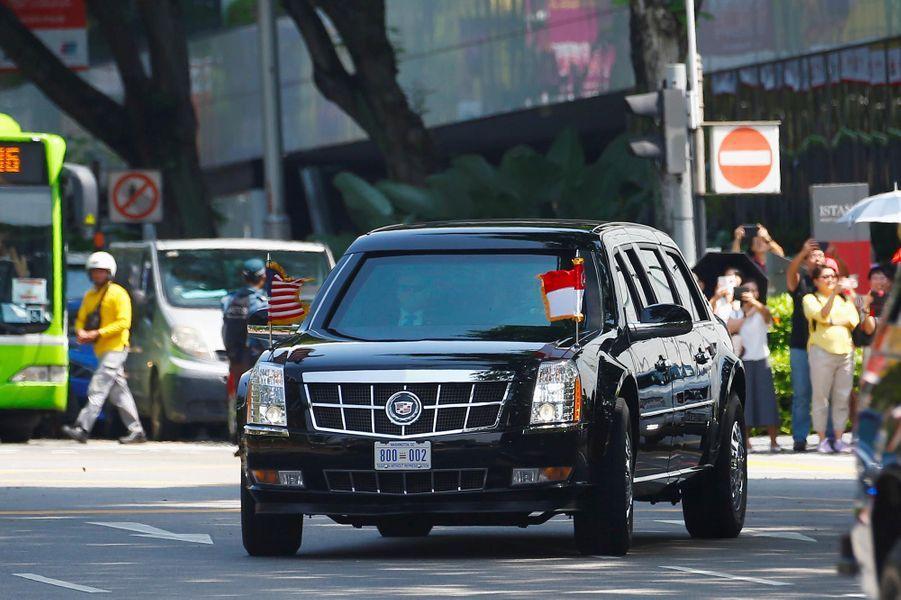 Donald Trump à Singapour, le 11 juin 2018.