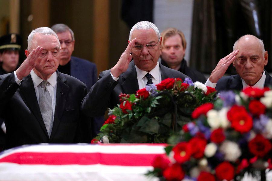 Colin Powellau Capitole, le 4 décembre 2018.