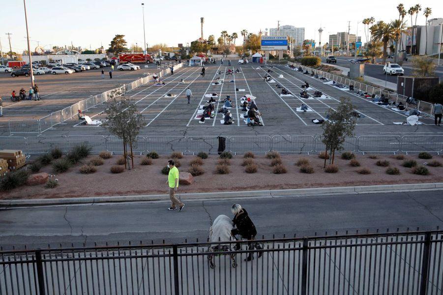 À Las Vegas, dans le Nevada, le 30 mars 2020.
