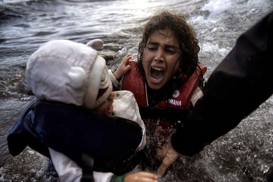 A Lesbos, la mort au bout du voyage