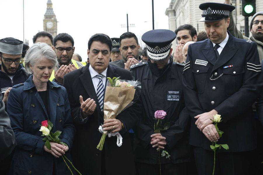 A Londres, le 29 mars 2017.
