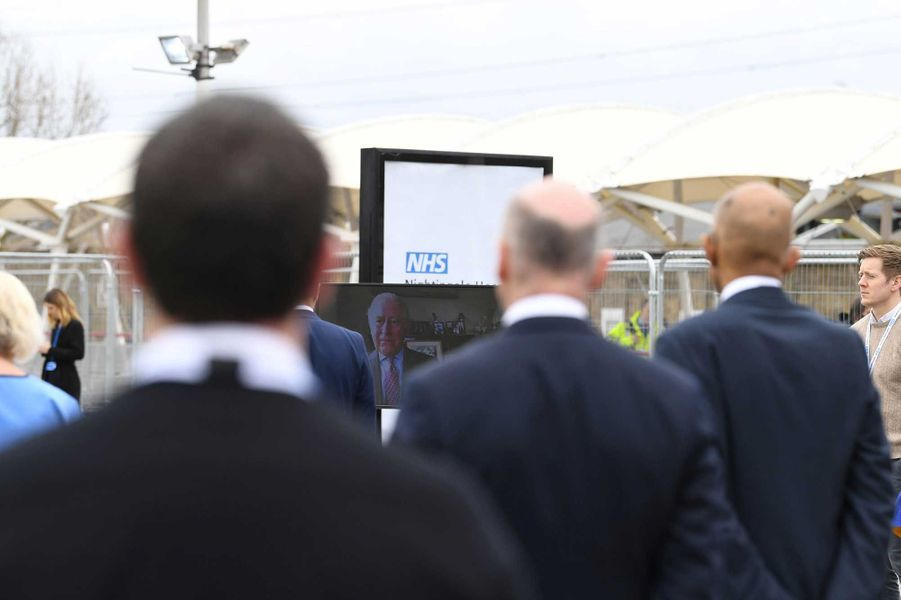 Cet hôpital de campagne a été inauguré vendredi à Londres en pleine crise de coronavirus