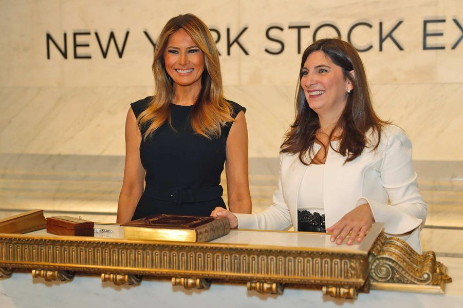 Melania Trump à New York, le 23 septembre 2019.