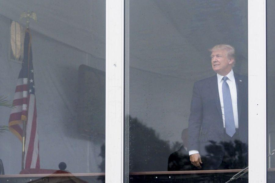 Donald Trump à Bedminster, dans le New Jersey, le 14 juillet 2017.