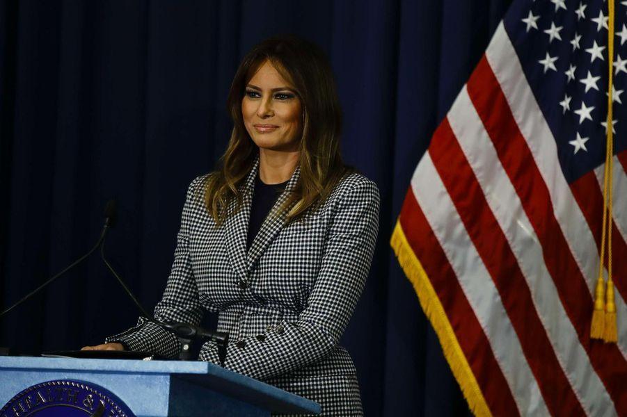 Melania Trump à Philadelphie, le 17 octobre 2018.
