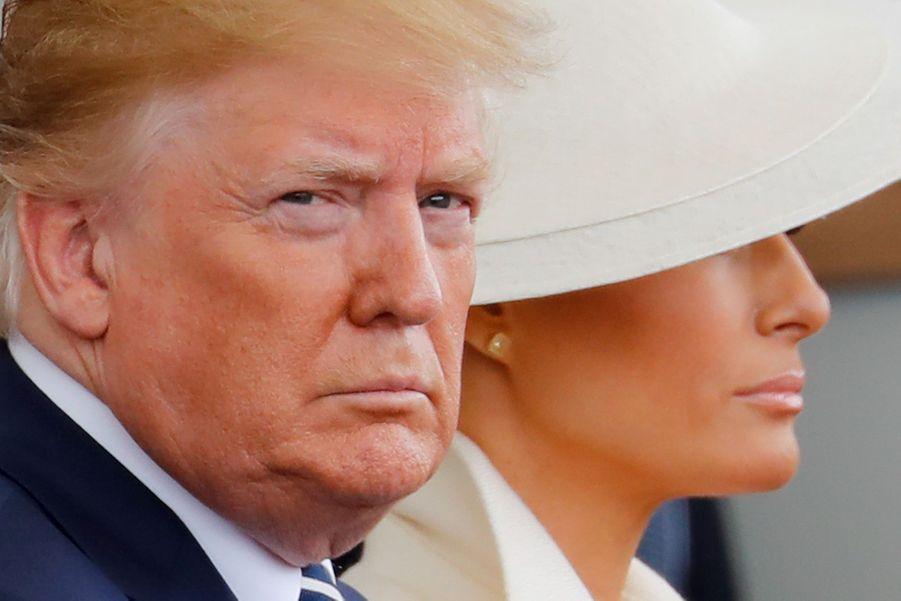 Donald Trump et sa femme Melania.