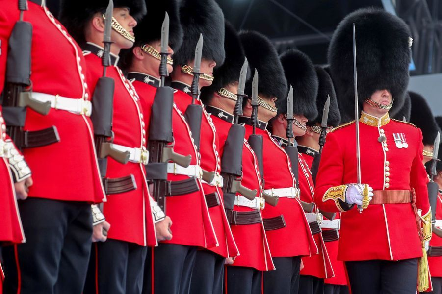 La garde royale britannique.