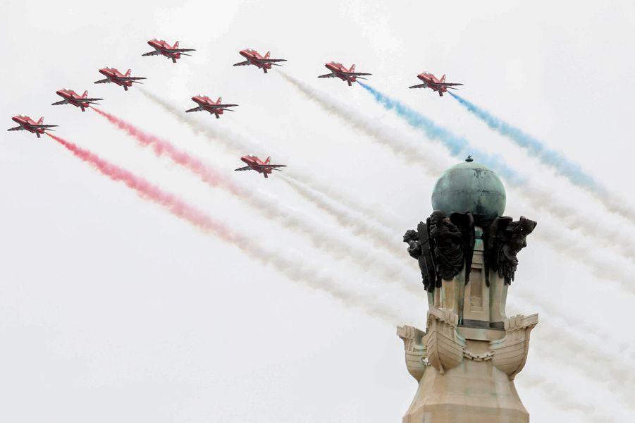La Royal Air Force pour les célébrations du 75e anniversaire du Débarquement.