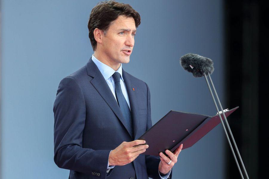 Le Premier ministre du Canada,Justin Trudeau.