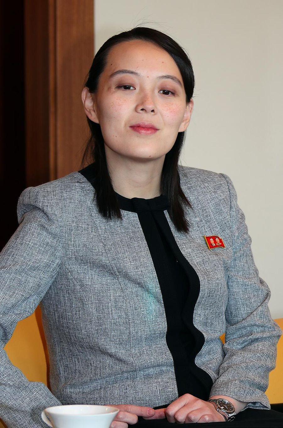 Kim Yo-jong à Séoul, le 11 février 2018.