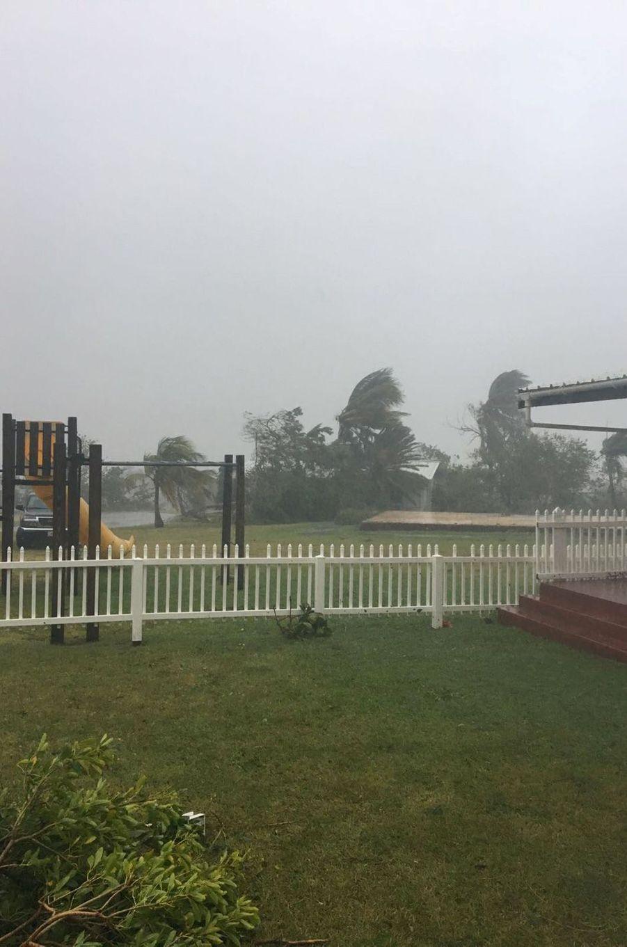 Les ravages du passage de l'ouragan Irma sur Saint-Martin, le 7 septembre 2017.