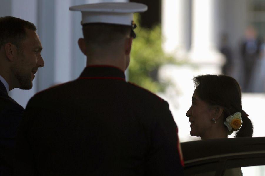 Aung San Suu Kyi à Washington, le 14 septembre 2016.