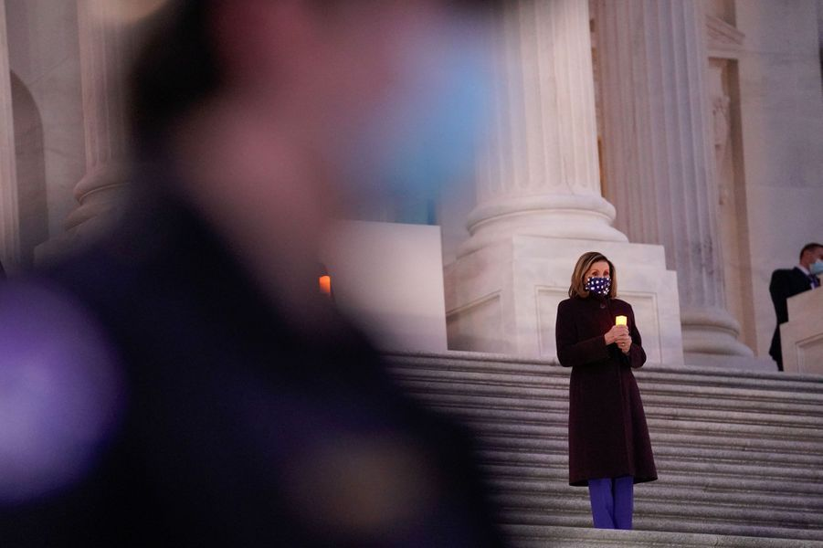 La présidente de la Chambre des représentants Nancy Pelosi