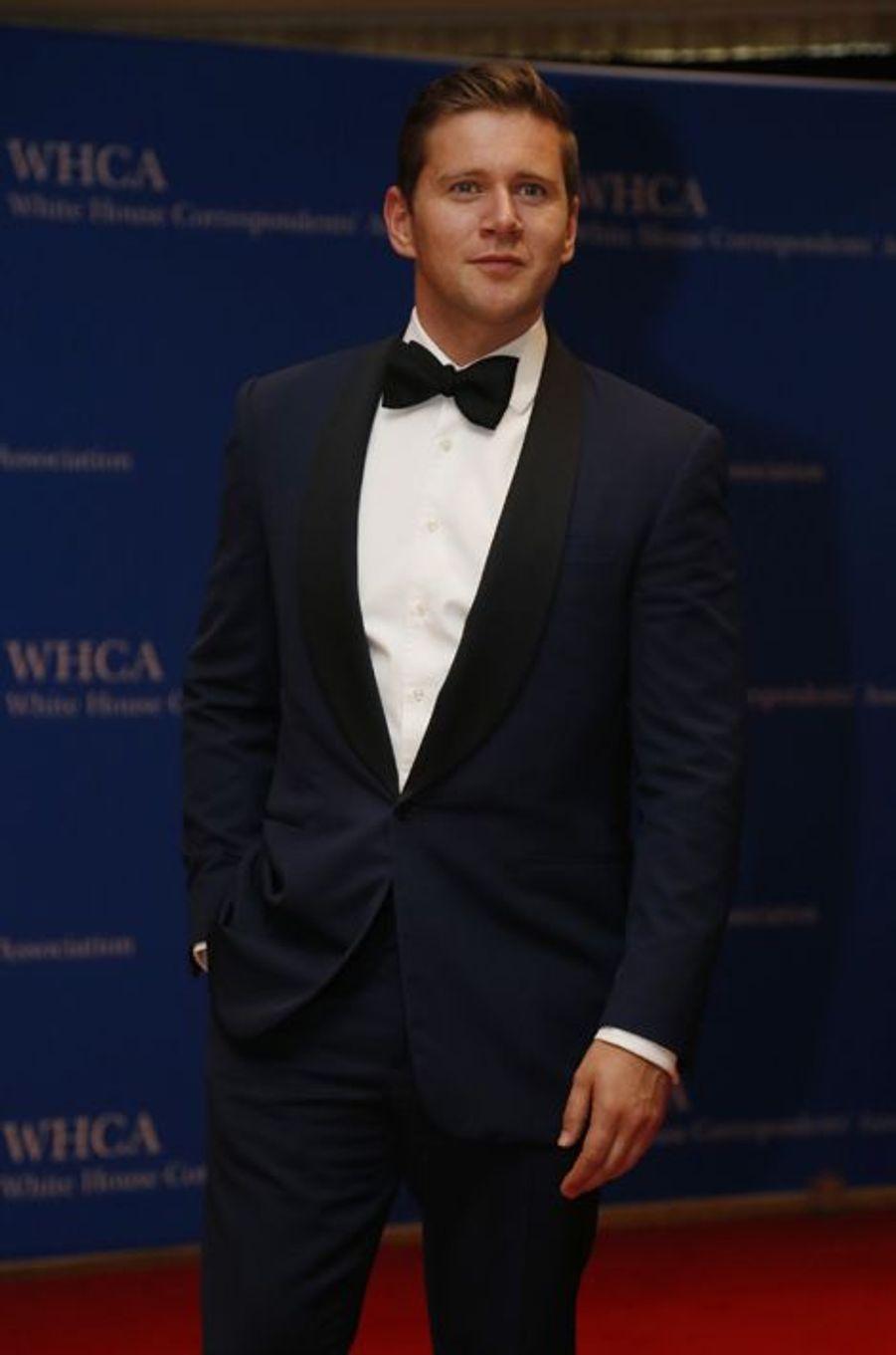 Allen Leech au dîner des Correspondants à la Maison Blanche, le 30 avril 2016 à Washington.