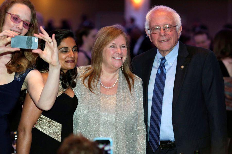 Bernie Sanders au dîner des Correspondants à la Maison Blanche, le 30 avril 2016 à Washington.