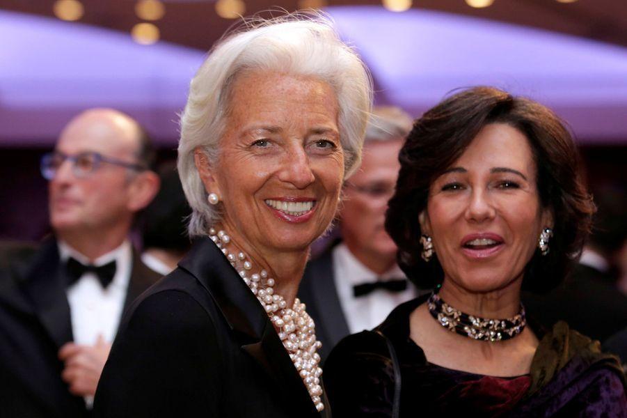 Christine Lagarde au dîner des Correspondants à la Maison Blanche, le 30 avril 2016 à Washington.