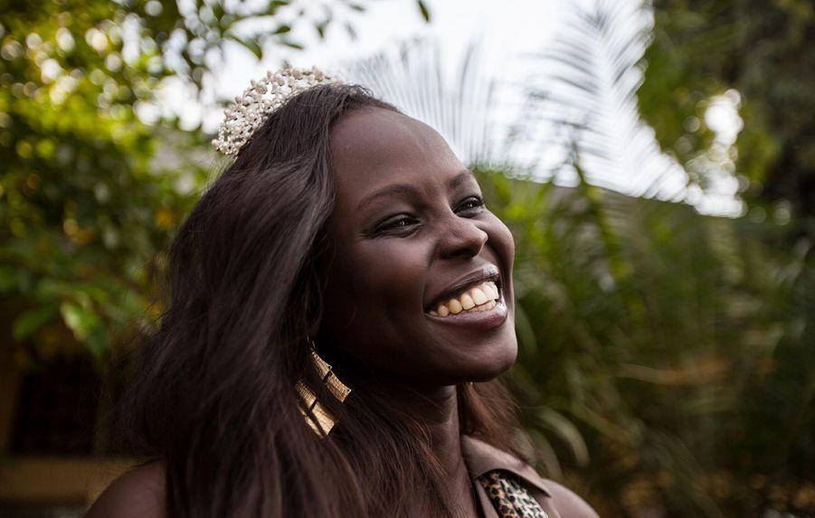 Atong Demach, Miss World Africa (août 2012)