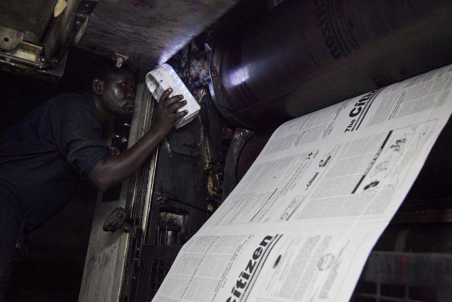 Impression du quotidien The Citizen à Juba