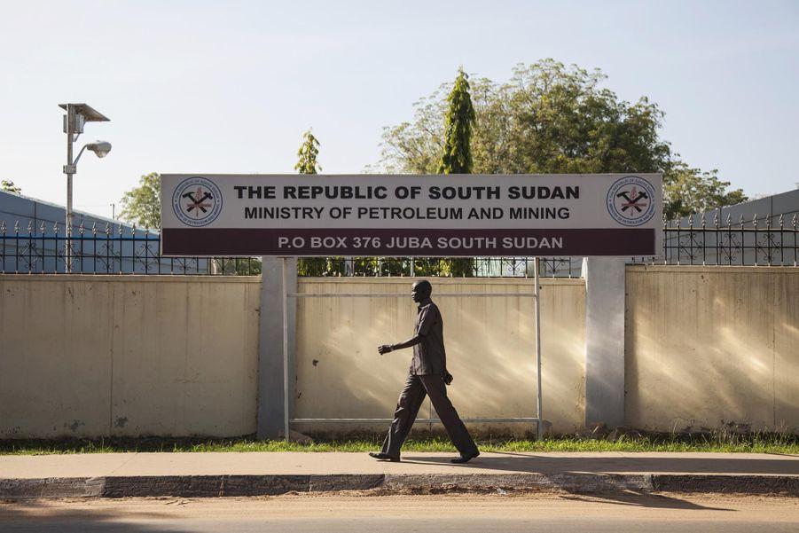 Le ministère du Pétrole et des Mines à Juba