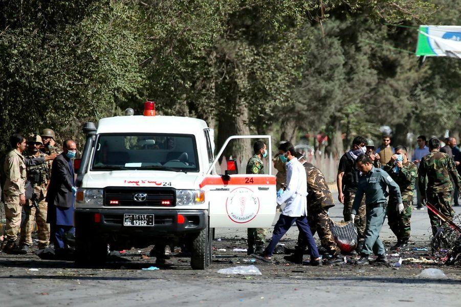 Deux attentats ont fait au moins 48 morts en Afghanistan, le 17 septembre 2019.