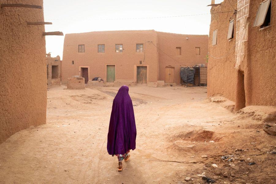 Au coeur de la vieille ville d'Agadez, le 30 juin dernier.