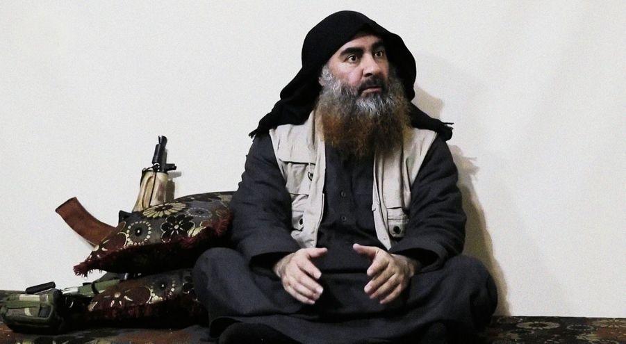 Le 29 avril. Dans sa première vidéo en cinq ans de guerre, le chef de Daech appelle ses fidèles à continuer le combat après la chute de son dernier bastion en Syrie.