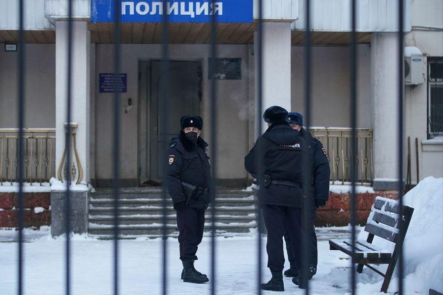 Alexeï Navalny a été emprisonné à Khimki, dans la banlieue de Moscou.